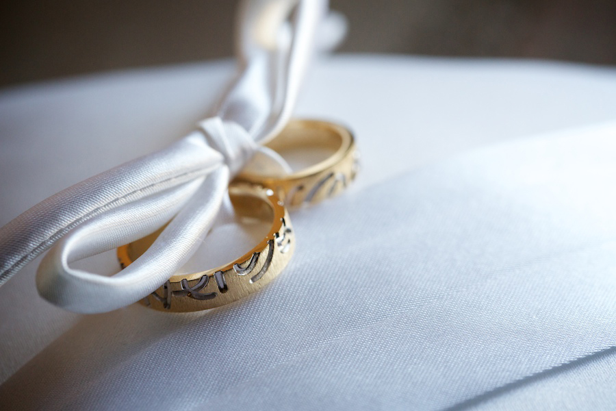 imagen detalle anillos boda Di Nozze