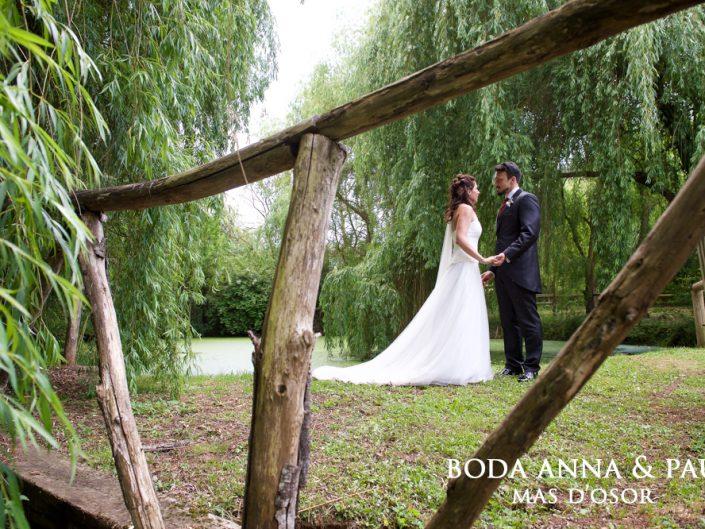 Reportaje de boda Barcelona Mas d'Osor