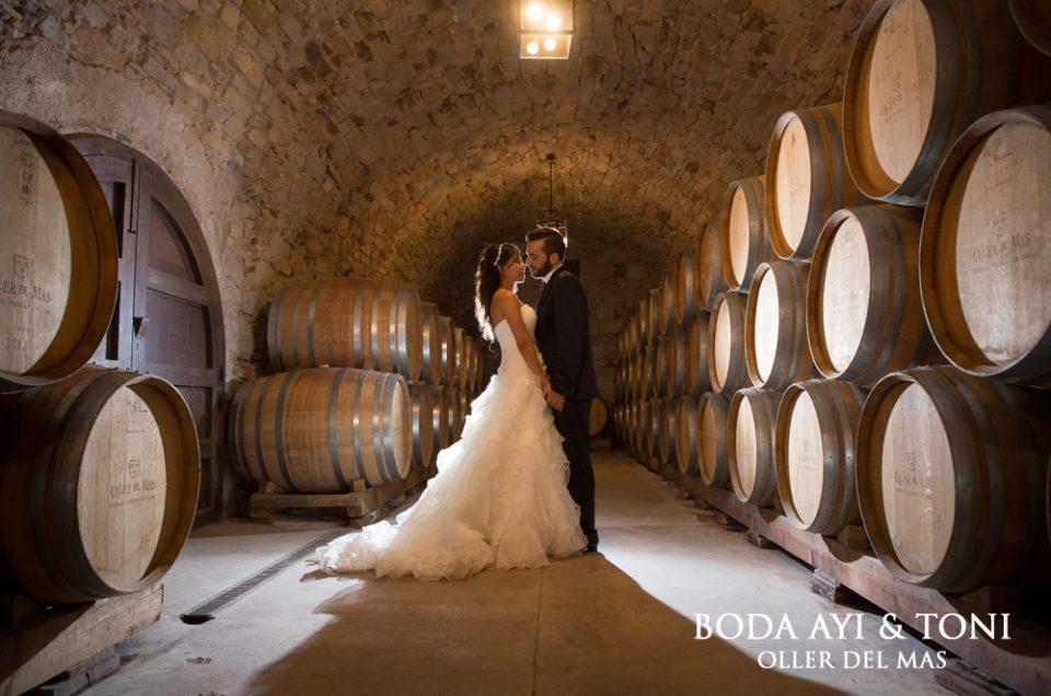 Fotografía de boda en Barcelona, Oller del Mas