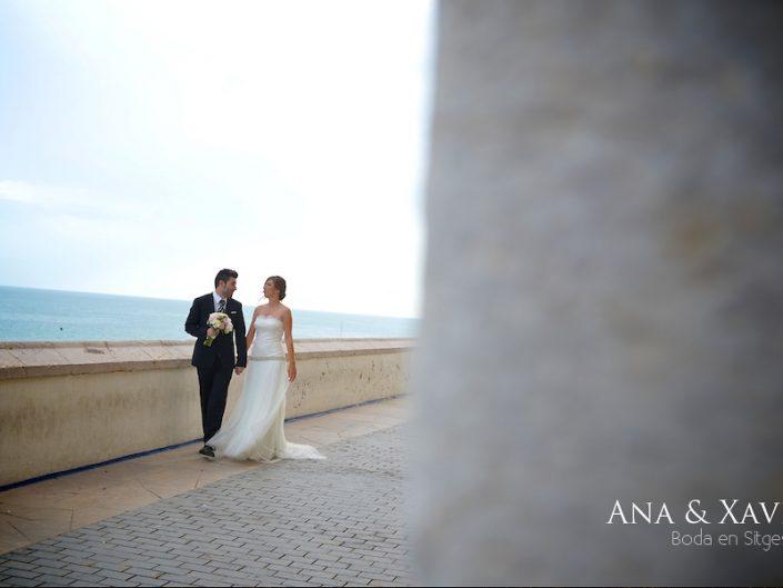 Reportaje de boda Barcelona, Hotel Melià Sitges, Ana & Xavi