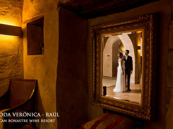 Reportaje de boda Barcelona Can Bonastre Wine Resort