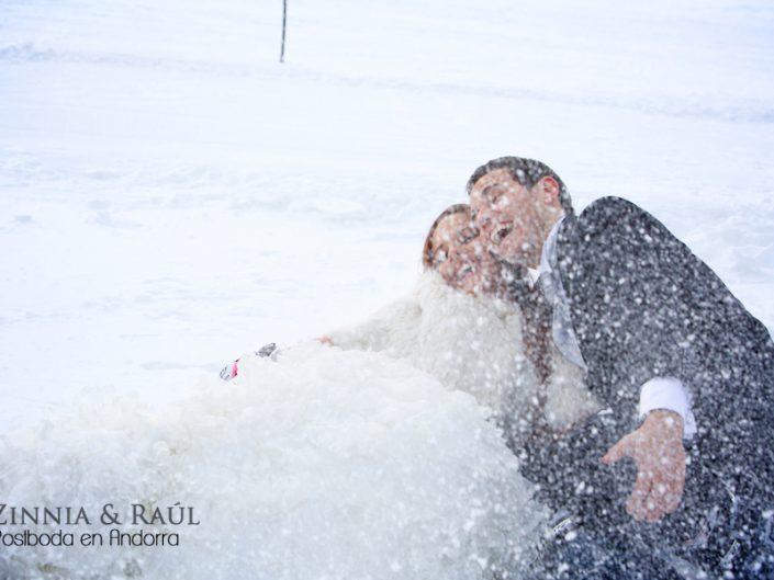 Reportaje postboda en Andorra Zinnia & Raúl